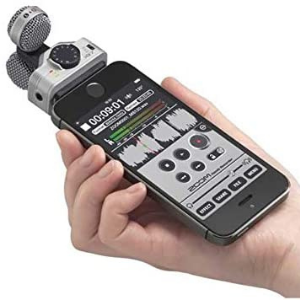 Zoom iQ6 _ Stereo X_Y microphone for iPhone
